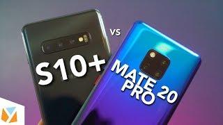 Samsung Galaxy S10 Plus vs Huawei Mate 20 Pro Comparison Review