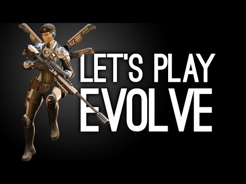 Let's Play Evolve - New Distillery Map Gameplay