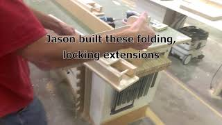 Specialty   Folding Miter Saw Table Extensions