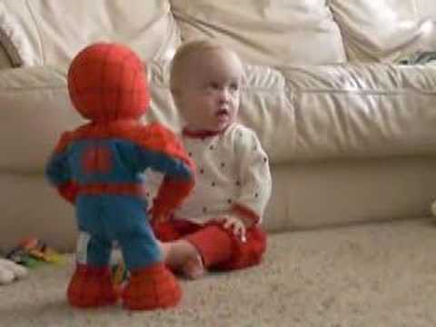 Katya and Spiderman