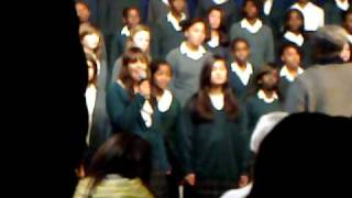 Gospel choir concert - Speak to me :)