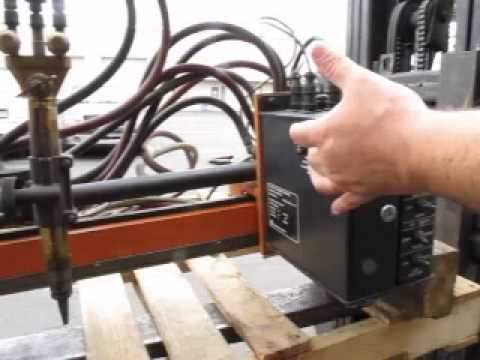 Cnc Optical Tracer Gas Plasma Cutter Youtube