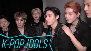Monsta X Are So Excited To Learn BTS Got A Grammy Nom | Access
