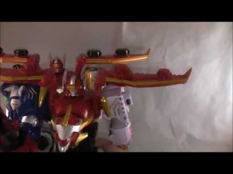 Gosei Great Megazord Review (Power Rangers Megaforce)
