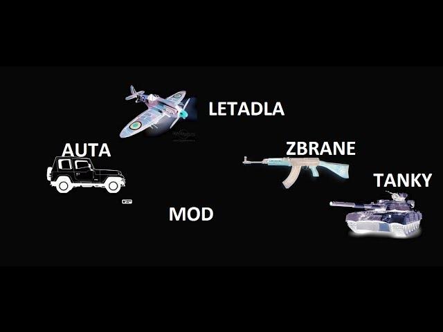 Minecraft Mod Tanky Letadla Zbraně Auta 1.2.5
