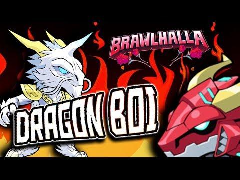 LOVE DAT DRAGON BOI - Brawlhalla 1v1 Gameplay