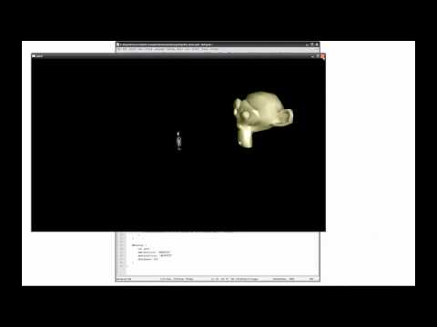 QML/3D Demo - Behold the Monkey God
