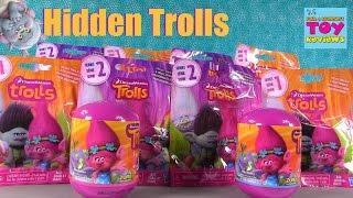 Trolls Movie Blind Bag Figures Opening Series 1 2 & Keyrings | PSToyReviews