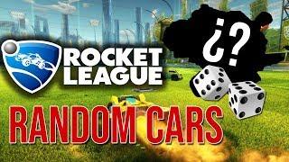 ESTE COCHE LO USA ALGUIEN ?? RANDOM CARS CON AlvaroJuega | Rocket League | Bati two