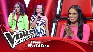 The Battles : Ruwani Umayangana V Sandeepa Isuruni | Eka Dawasak Mama Dutuwa | The Voice Sri Lanka