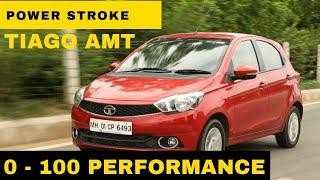 #Round2 Tata Tiago AMT | 0 to 100 Performance