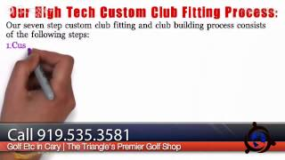 Custom Club Fitting | Club Fitter | 919.535.381 | Raleigh, NC | 27502 27511 27513 27519 27526 27529