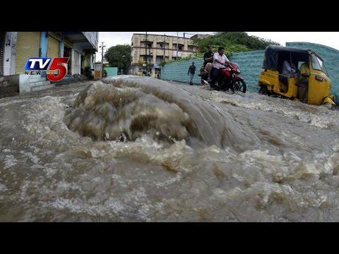 Heavy Rains In Hyderabad : TV5 News