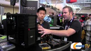 Newegg TV Booth @ PAX East 2013 with Antec
