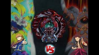 Shelter Regulus .5S.D Vs. Gigant Gaia .Q.F - Beyblade Burst Battle