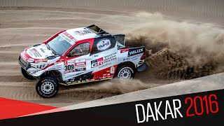 Dakar 2016 Toyota Gazoo Racing Stage 2