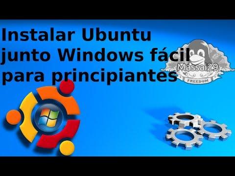 Instalar Ubuntu 13.10 junto Windows fácil para principiantes