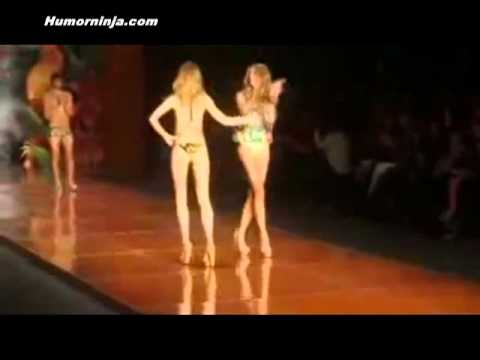 model fail at rio fashion week Music Videos