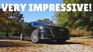 What It's Like DRIVING The ALL NEW 2019 Audi A8 L 3.0T!!