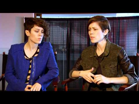 Press 2 Play:  Tegan and Sara discuss their early career struggles and LGBT advocacy