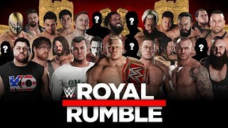 Download WWE 2K18 Royal Rumble - 30 Man match & New Gameplay Mechanics 3Gp Mp4