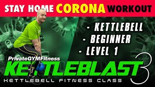 KETTLEBLAST 3 - (Week 1, Day 3) Total Body Core  |