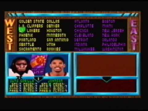 Nba Jam te Snes Secret Players