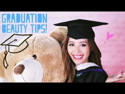 Graduation Beauty Tips + My Speech!