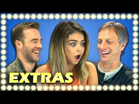EXTRAS - CELEBRITIES REACT TO VIRAL VIDEOS