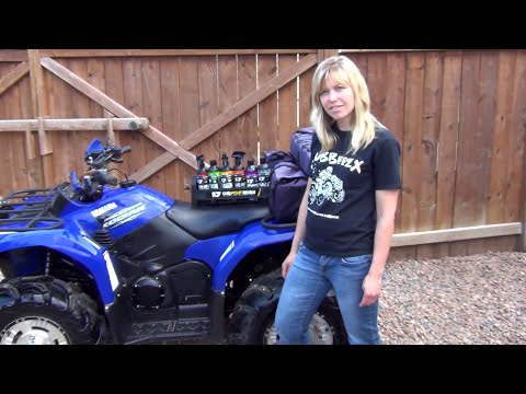 CK Tries Out The 1.7 Cleaning Solutions Products On Her ATV