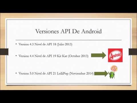 Android Versiones API, Estructura