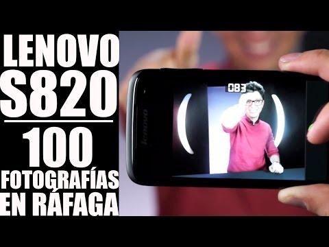 Celular Lenovo S820. review en español