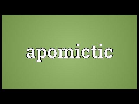 Header of apomictic
