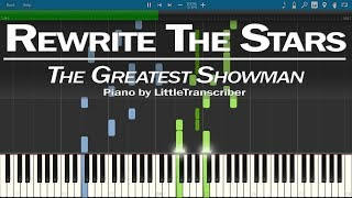 Download Lagu The Greatest Showman - Rewrite The Stars (Piano Cover) by LittleTranscriber Gratis STAFABAND