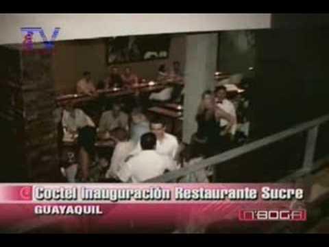 Coctel inauguración restaurante Sucre
