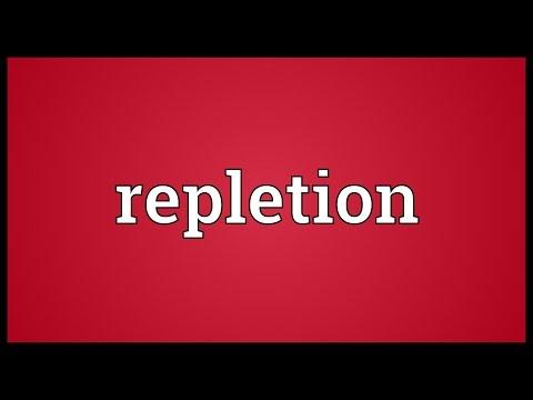 Header of repletion