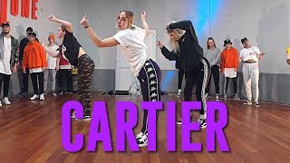 "Download Lagu Dopebwoy ""CARTIER"" ft. Chivv & 3robi 