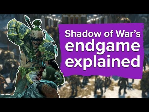 SHADOW of WAR - ALL ENDINGS FINAL BOSSES + SECRET Ending Shadow of War