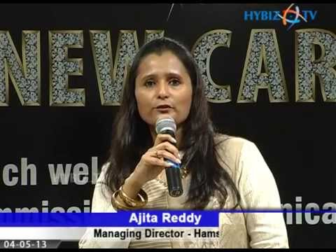 Ajita Reddy at Hamstech's Fashion & Designs