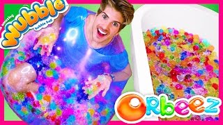 WUBBLE BUBBLE FILLED WITH GIANT ORBEEZ!