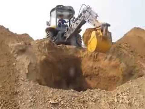 backhoe loader working video VS JCB 3DX/JCB 3CX