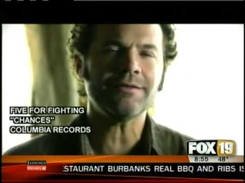 Five for Fighting Behind the Hits interview w/Q102's Brian Douglas on FOX19