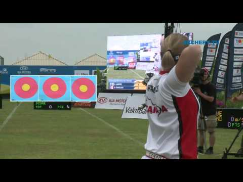 Archery World Cup 2010 - Stage 2 - Ind. Match #1 Video