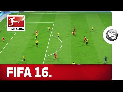 FC Bayern München vs. Borussia Dortmund - FIFA 16 Prediction with EA Sports