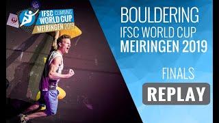 IFSC Climbing World Cup Meiringen 2019 - Bouldering Finals