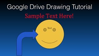 Google Drive Drawing Tutorial - How To Use The Google Drive Drawing Tool