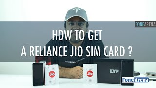 How to get a Reliance Jio SIM card ? Jio Lyf Preview Offer Explained