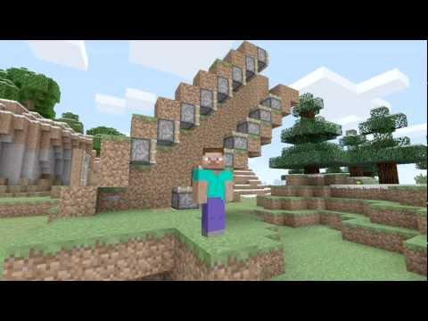 How to Make an Escalator for Minecraft: Xbox 360 Edition