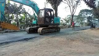 রাস্তার বারোটা বাজাই দিলো,,Damn road drill machine...