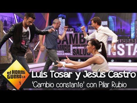 Pilar Rubio estrena la sección 'Cambio constante' en 'El Hormiguero 3 0'